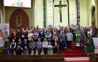Volunteers Mass Group Photo