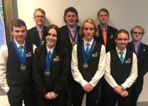Newman College World skills winners